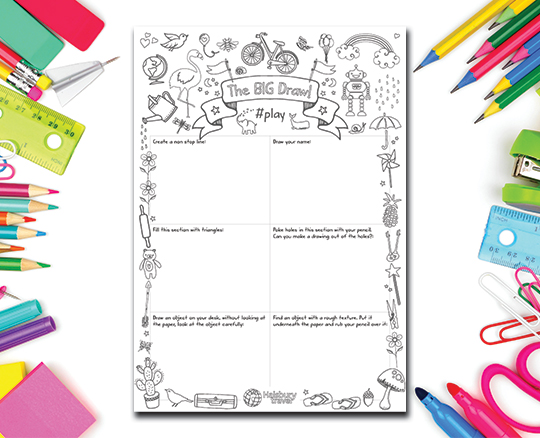 The Big Draw Activity Sheet