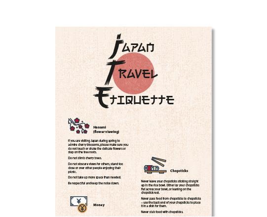 Travel Etiquette in Japan