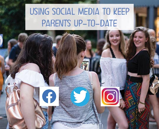 Using Social Media to Keep Parents Up-to-Date