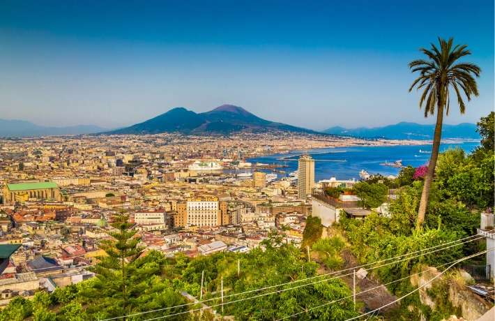 School Geography Trip to Naples and Sorrento